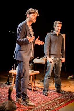 Arthur (links) en Jair van de Rietwijker vertellen over hun avonturen met Kees en David van de Gemeente